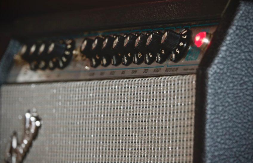A vintage Fender Twin Reverb